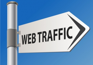 UNLIMITED Regular website traffic 600 daily visits