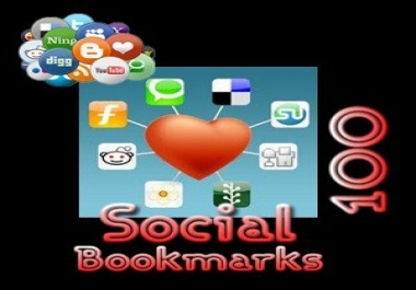 I Will do 100 Bookmarks Links Service