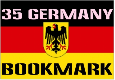 Add your site in 30 high PR German social bookmark and give you backlinks