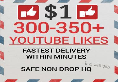 Fastest 400+ Youtube Video Likes Non drop