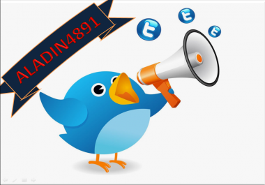 Give you 1,000+ bonus Real looking [FULL PROFILE]twit... for $1