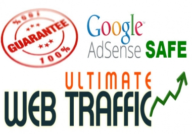 UNLIMITED HUMAN TRAFFIC SAFE ADSENSE AND SEO STRATEGY for  30 days