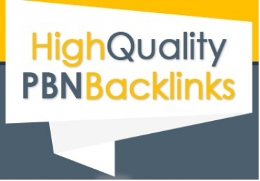 Get 5 High PR PA DA TF CF, PBN Backlinks - Homepage Quality Links