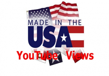 1,000+ Real active non drop USA & Target Country YouTube Video Views or 300+ Non drop YouTube Video Likes or 100+ YouTube Subscribers