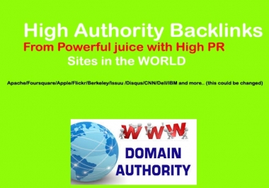 Manual 60 PR9 High Authority Backlinks for Ranking Up Site or Video