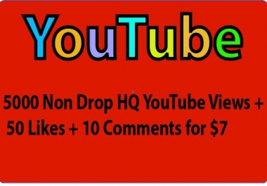 HQ YouTube 4000 Views+20 Likes+20 Subscribers+20 Comments