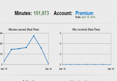 2,000+ Hitleap Minutes to get 12,000 Worldwide Visitors