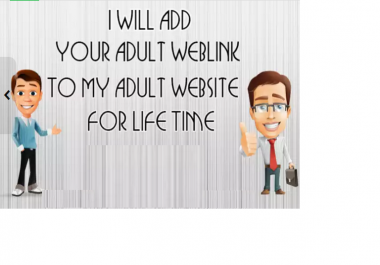 add Your Backlink To My Adult Tube Website