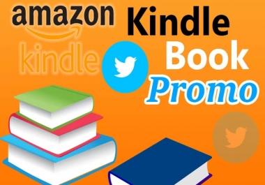I will amazon Kindle Books Promotion on Twitter