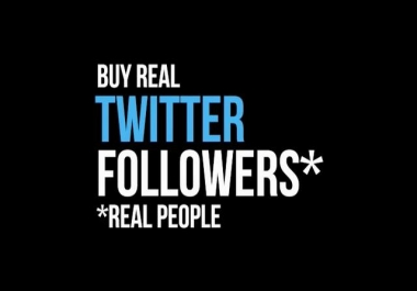 give you 600 Real twitter follower in your any userna... for $1
