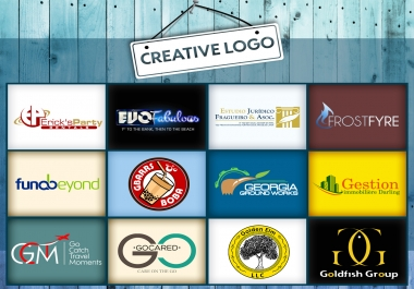 Professional logo design with 3 Concepts for your business