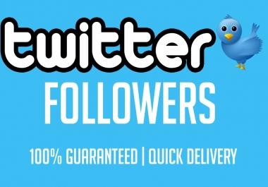 Superspeed 6000+ Twiitterr Followers