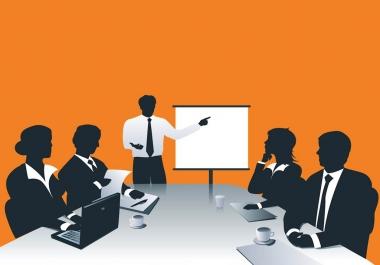 create a Dynamic Prezi or Powerpoint Presentation