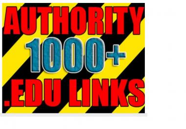 make over 1000 VERIFIED live edu links