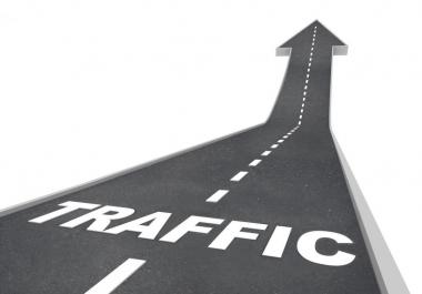Give 20k visitors hits views clicks for your blog , website, social media account