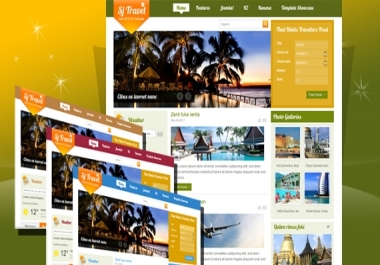 joomla travel template