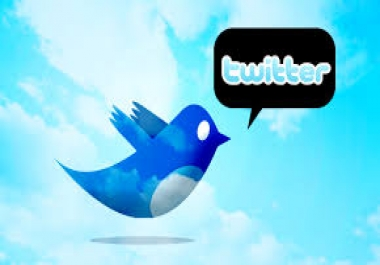 Greatest 35 000+ Twitter Followers Will be Added to Your Account Just