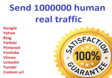 1,000,000+ Keyword Targeted GOOGLE traffic Real humans