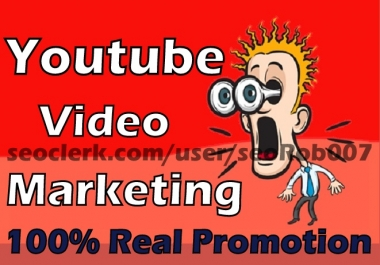 Non Drop YouTube video Marketing Guaranteed