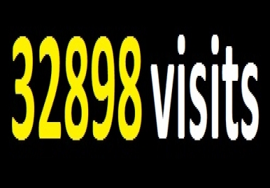 100000 visits for your website