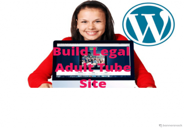 Build your own completely Autopilot Legal Adult Tube or Normal  Website