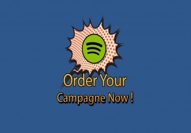 Tweet campaign for your spotify track