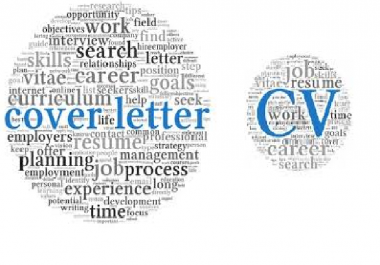 writing and editing resumes and cover letters
