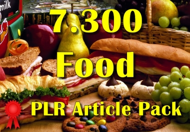 7300 FOOD Plr Article Collection Pack