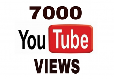Give You 7000+ High Retention + Splitable Youtube Views