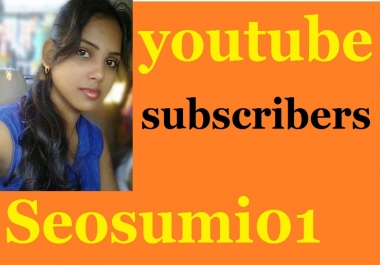 120 real and active youtube subscribers