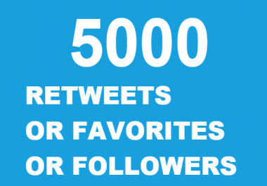 5000 retweets AND 5000 favorites OR 5000 followers