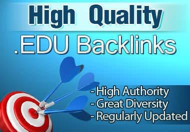 Manually I will create 60 PR5/9 Contextual Edu Backlinks