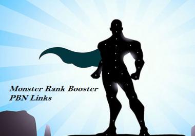 Monster RANK BOOSTER PBN Links
