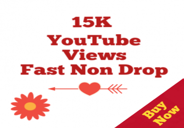 15000-15500 HQ Non drop Youtube Views+50 Likes Bonus super speed within 12-72 hours
