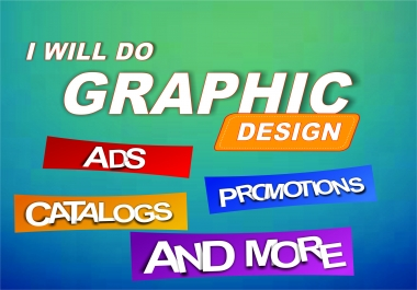 I will do a vector graphic design