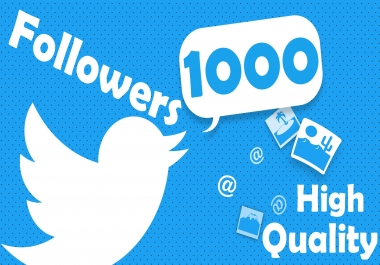 1000+ Twitter Profile Promotion High Quality A+ Brand Service in 24 Hours.