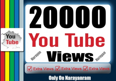 20000 High-Quality YouTube Views Safe Instant Start
