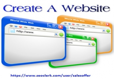Create A Website Service