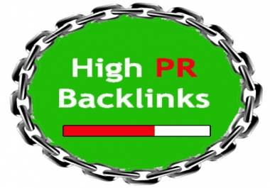 SKYROCKET YOUR GOOGLE RANKINGS WITH 50 PR10 to 5 Niche Backlinks