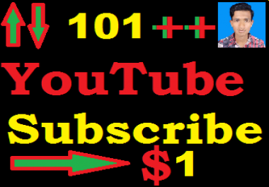 instant 101++ YouTube subscriber asap