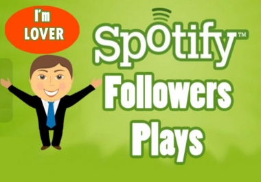 I will 400 spotify followers and 100 organic spotify plays