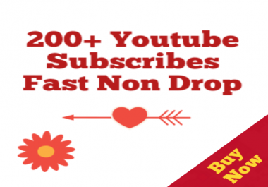 102+Real Youtube Subscribers Non Drop 12-72 Hours