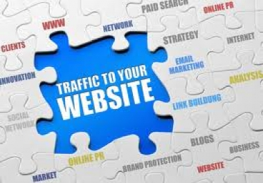 sent you 2800+ Adsense safe real and human traffic from worl... for $1