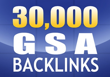 I will build 20000 GSA Ser backlinks for Google ranking!!