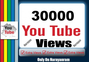 Get 30000 Highly Quality YouTube Views Fully safe Instant Start