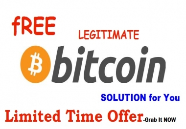 Legitimate BITCOIN Solution : Give You Solutions To Your Bitcoin Challenges - Best Kept Secret -LIMITED Time Offer !!!
