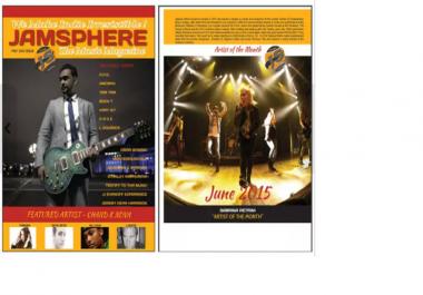review your Original Music on Jamsphere Magazine plus tweet to 200k twitter fans