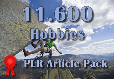 11600 HOBBIES Plr Article Collection Pack