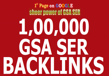 MADE 100000 GSA SER BACKLINKS GUICE FOR YOUR GOOGLE RANKING