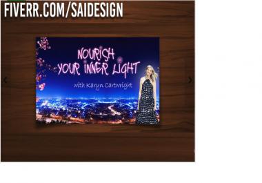 design a professional banner or header